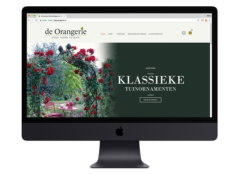 De Orangerie website